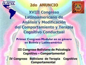 XVIII CLAMOC- La Paz, Bolivia – Octubre 10 al 13 de 2018