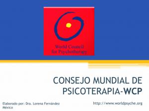 WCP – Consejo Mundial de Psicoterapia